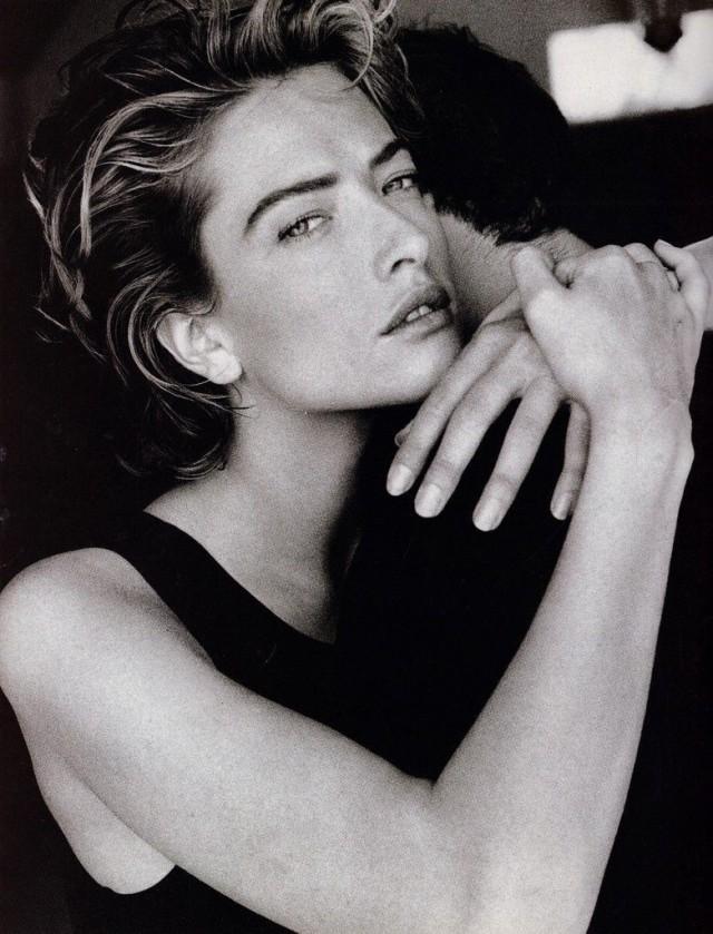 Татьяна Патитц для Vogue, 1990. Фотограф Патрик Демаршелье