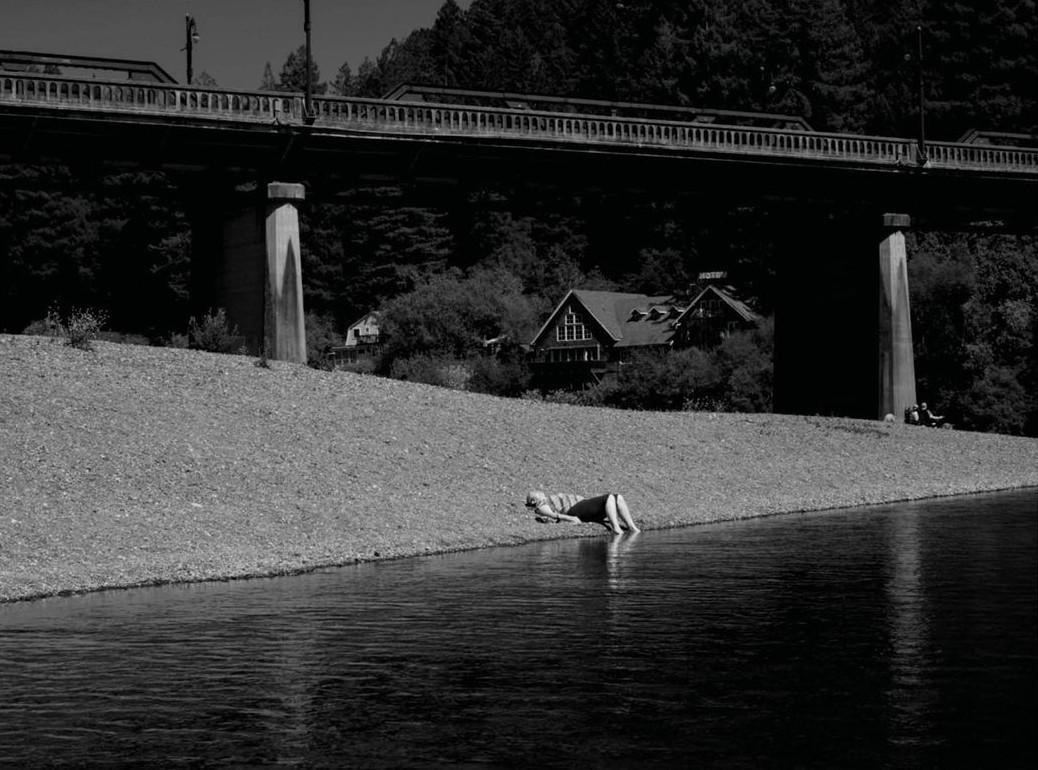 Тишина. Петалума, Калифорния, март 2020 года. Фотограф Джим Голдберг