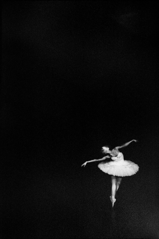 Балерина, Париж, Франция, 2018. Фотограф Сирил Дрюар