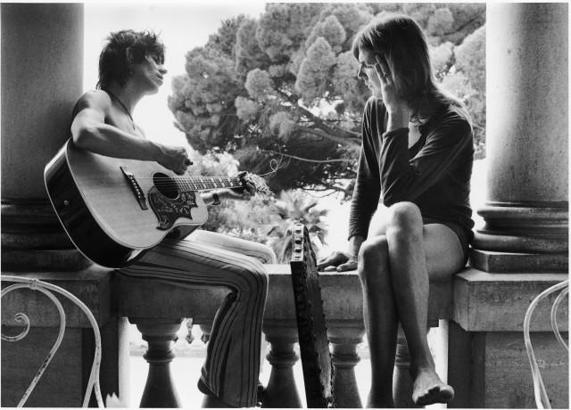 Кит Ричардс и Грэм Парсонс. Villa Nellcôte, юг Франции, 1971. Фотограф Доминик Тарле