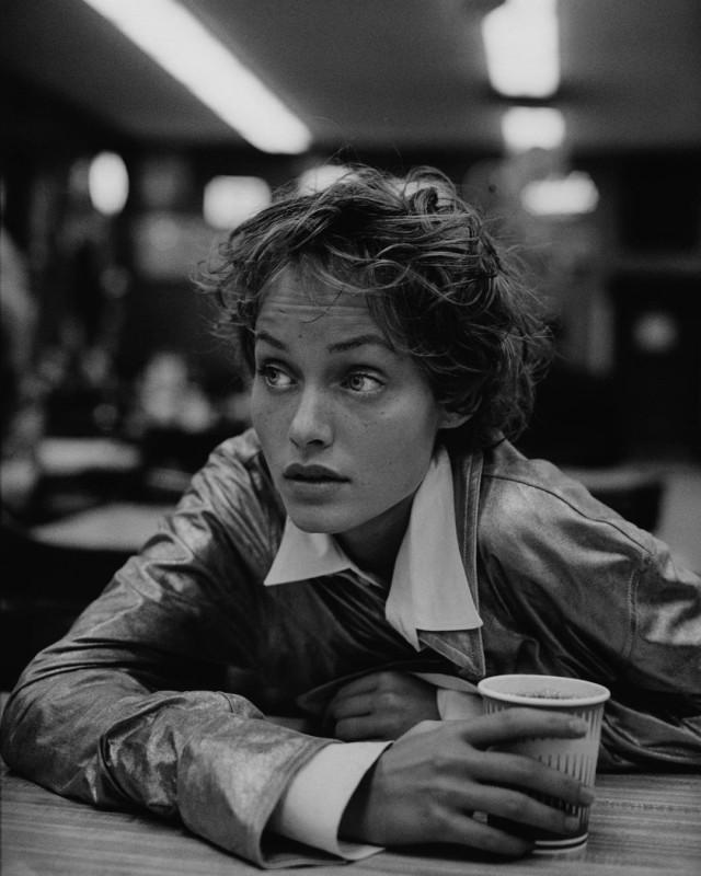 Эмбер Валлетта, Нью-Йорк, 1993. Фотограф Петер Линдберг