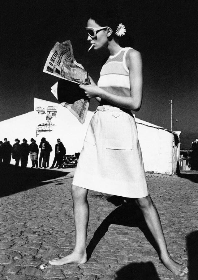 Vogue, 1965. Фотограф Хельмут Ньютон