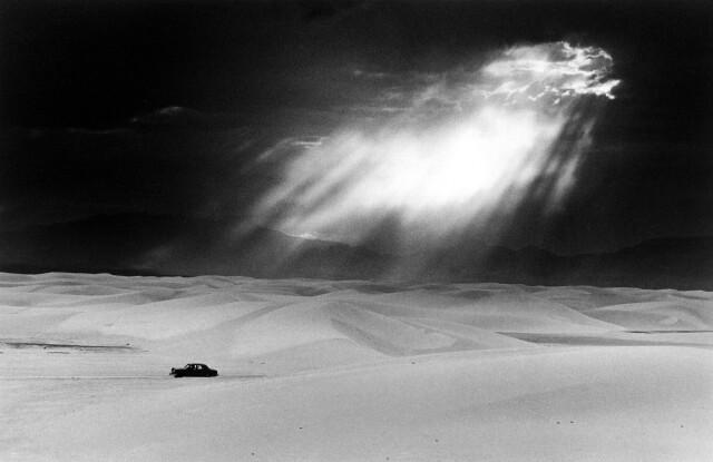 Уайт-Сандс, Нью-Мексико, 1950. Фотограф Эрнст Хаас