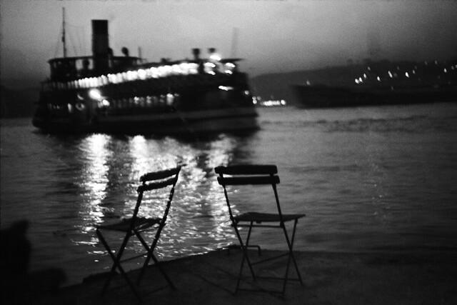 Пассажирский корабль, Стамбул, Турция, 1965. Фотограф Ара Гюлер