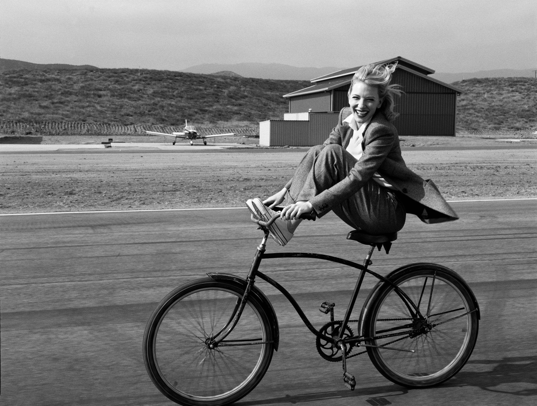 Кейт Бланшетт. Фотограф Энни Лейбовиц