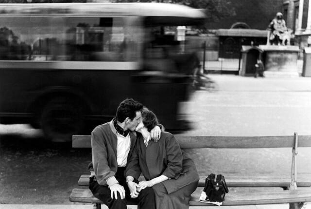 Париж, 1954. Фотограф Джанни Беренго Гардин