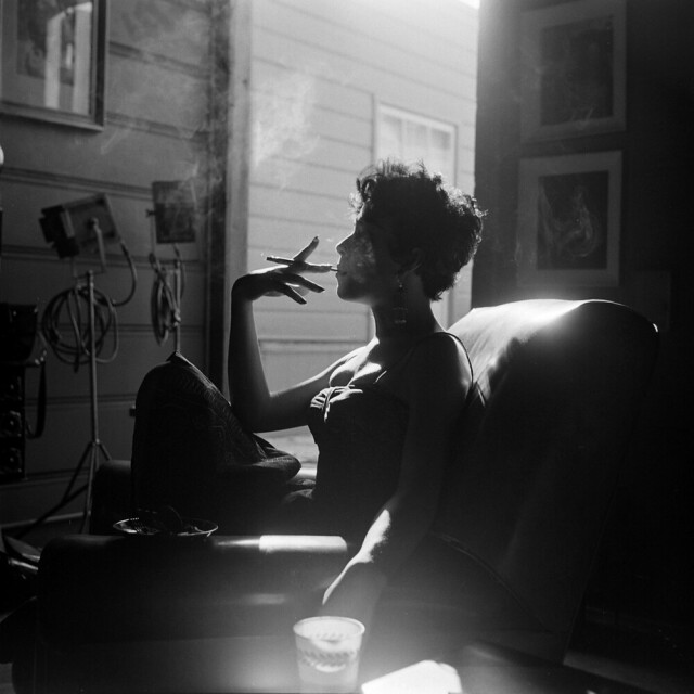 Рита Морено, LIFE, 1954. Фотограф Лумис Дин