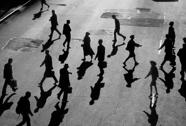 8 утра, Нью-Йорк, 1981. Фотограф Скотт Барроу