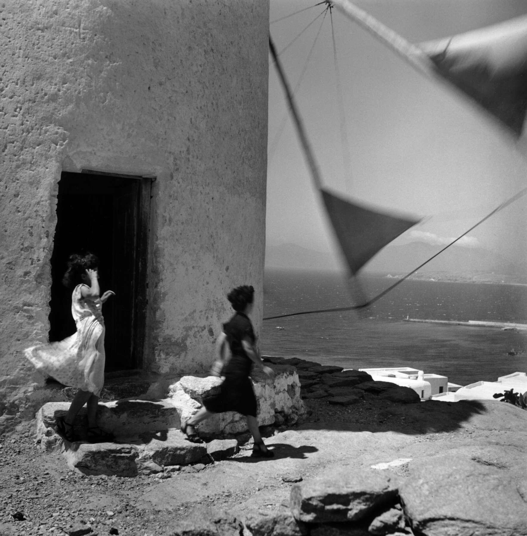 Греция, 1952. Фотограф Эрнст Хаас