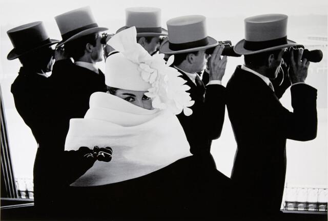 Шляпка Givenchy, Париж, 1958. Фотограф Франк Хорват
