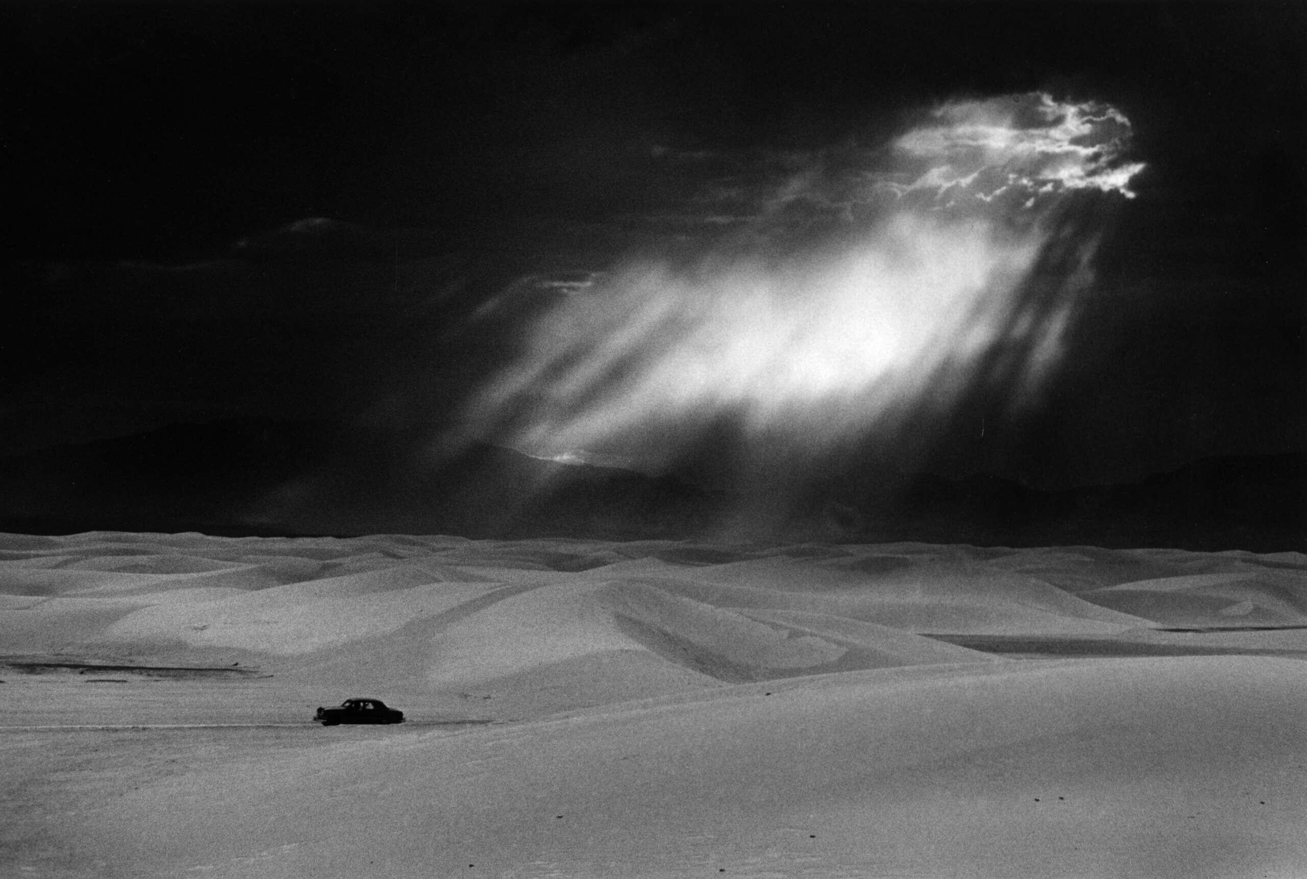 Уайт-Сандс, Нью-Мексико, 1952. Фотограф Эрнст Хаас