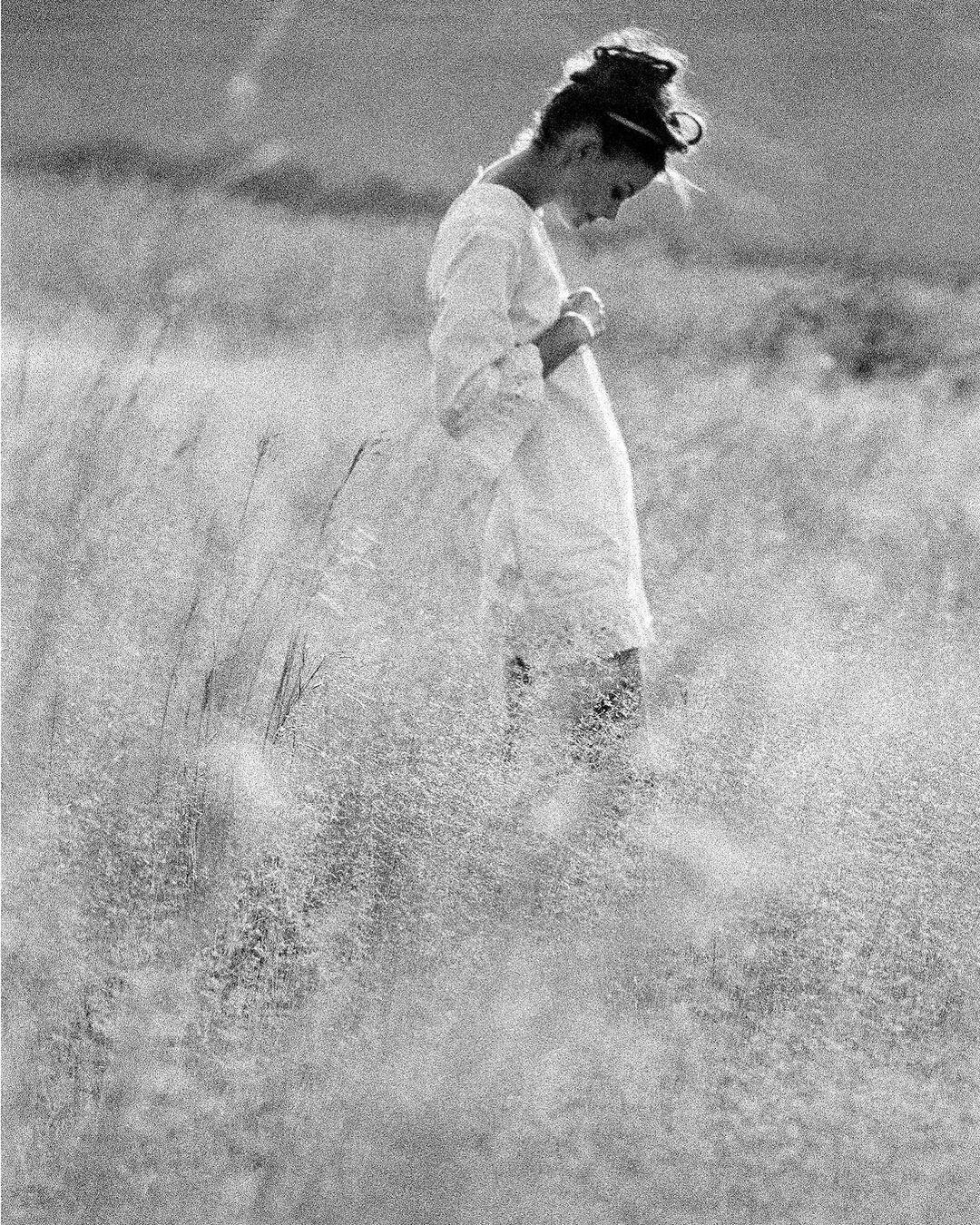 Прогулка по лугу, 1963. Фотограф Сэм Хаскинс