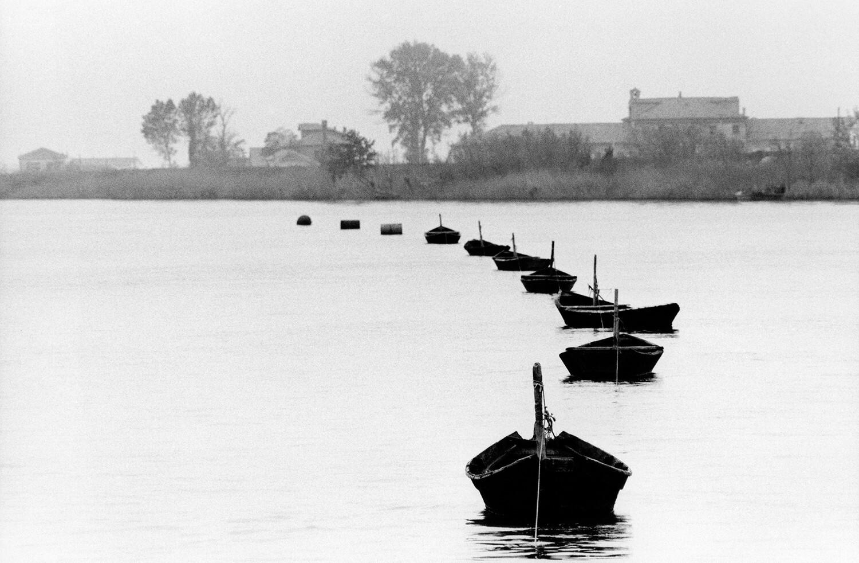 Лодки, ок. 1970. Фотограф Джанни Беренго Гардин
