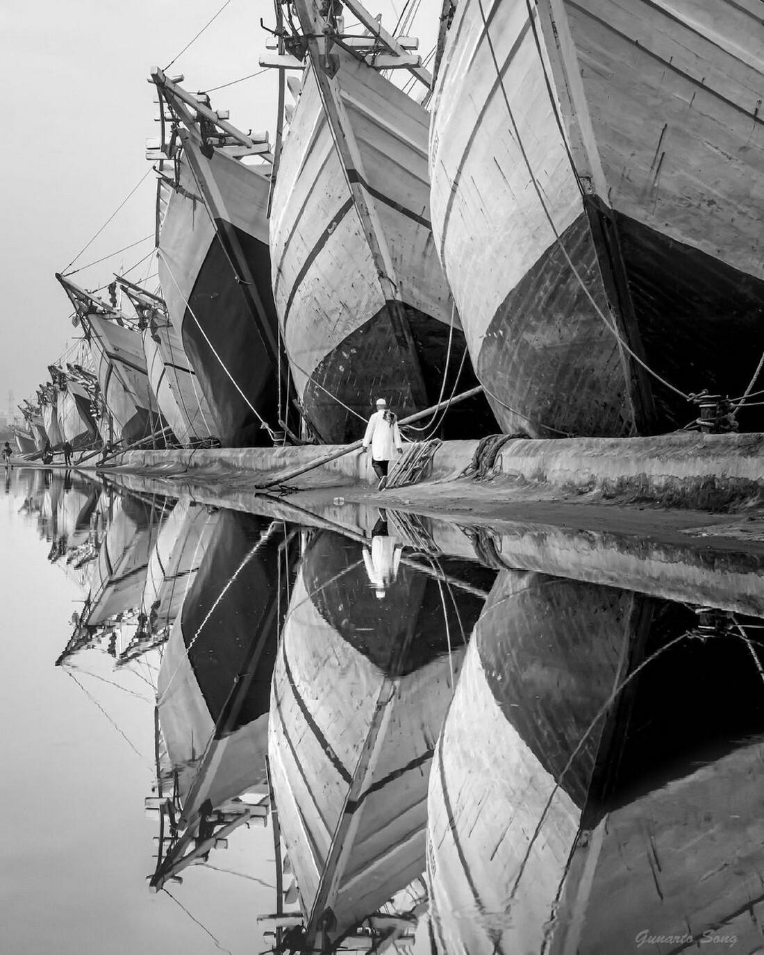 Гавань Джакарты. Фотограф Gunarto Song