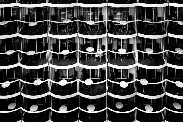 На круизном корабле «Симфония морей», 2019. Фотограф Пьер Жели-Форт