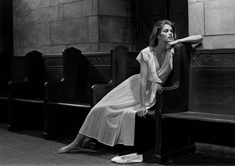 Джиа, 1978. Фотограф Роберт Фарбер