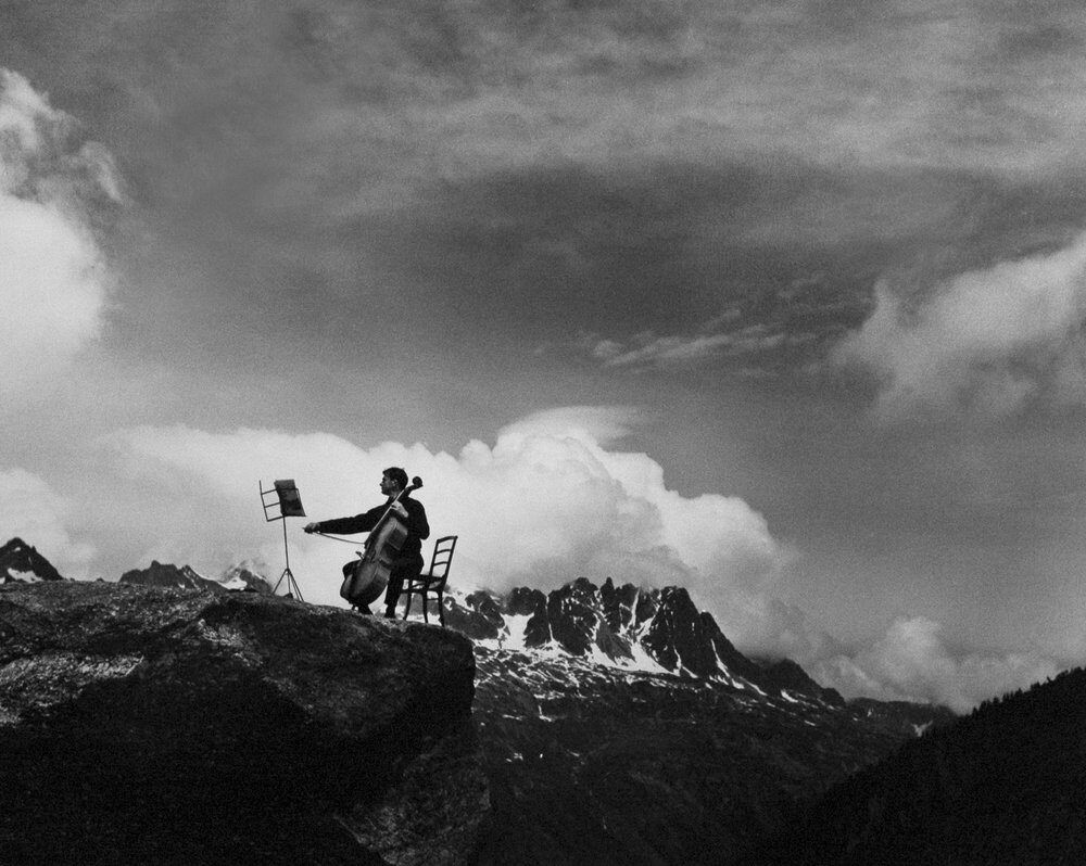 Морис Баке, 1957. Фотограф Робер Дуано