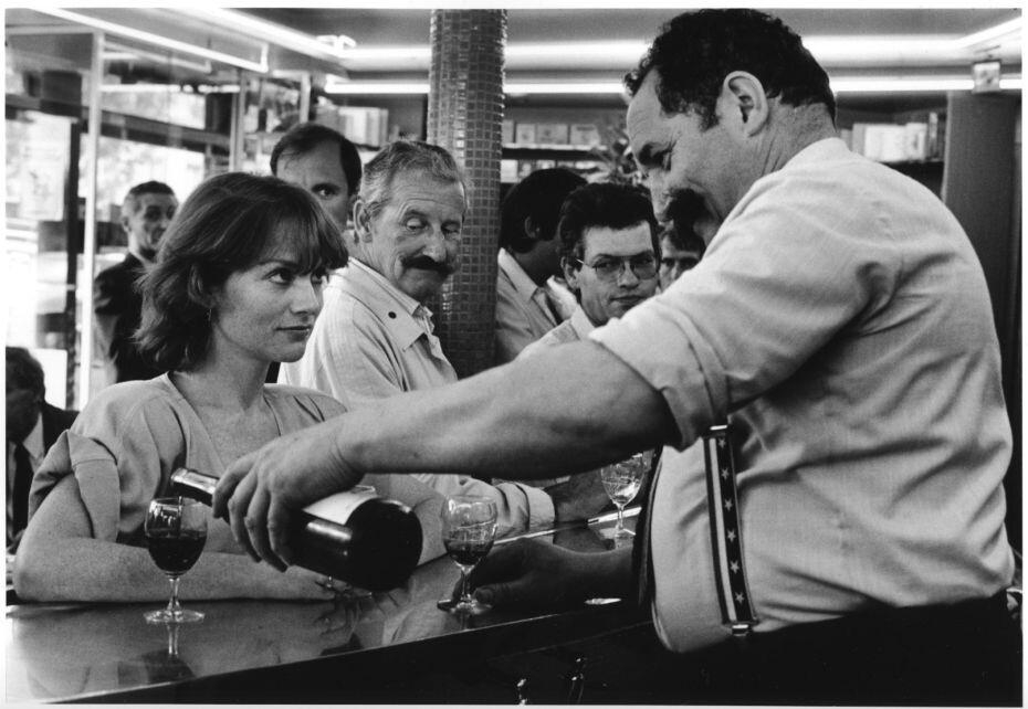 Изабель Юппер, Париж, 1985. Фотограф Робер Дуано