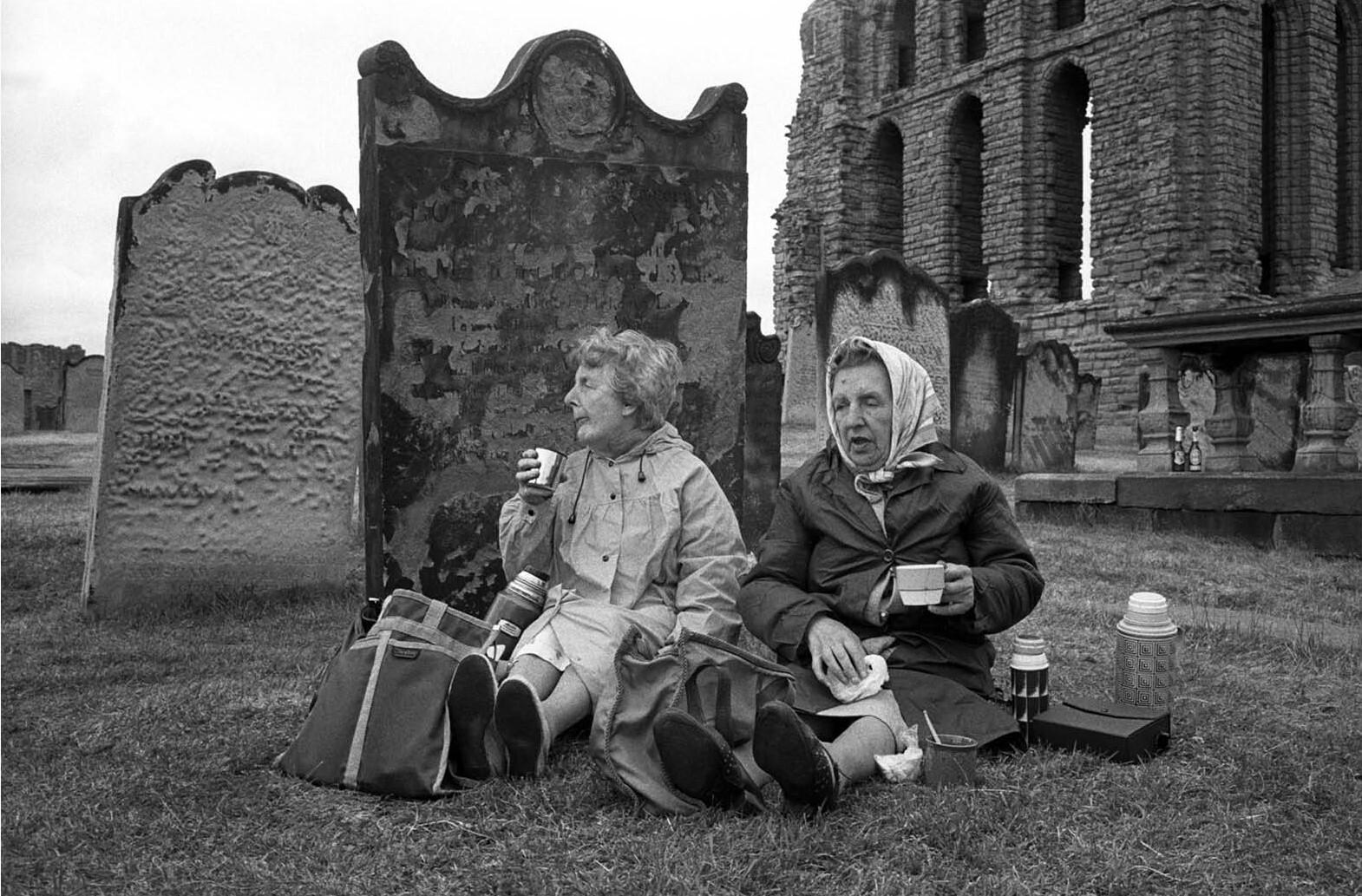 Чаепитие. Англия, 1970-80-е. Фотограф Боб Уоткинс