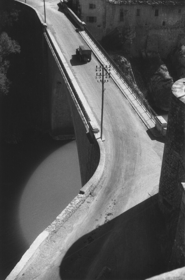 Мост, Систерон, 1929. Фотограф Роджер Шалль