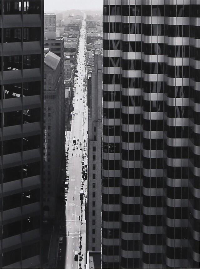 Буш-стрит, Сан-Франциско, 1984. Фотограф Марк Ситрет