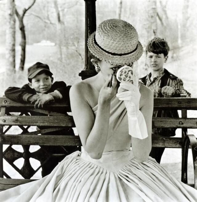 Центральный парк, Нью-Йорк, 1955. Фотограф Фрэнк Полин