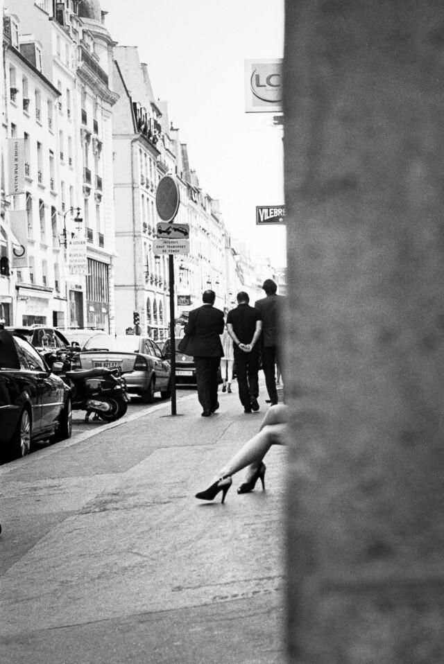 Телодвижение. Париж, 2013. Фотограф Давид Руссель
