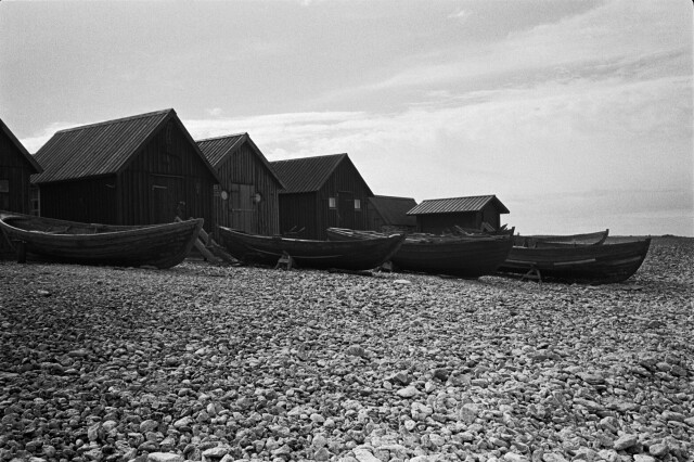 Лодки и домики. Фотограф Андре Каррара