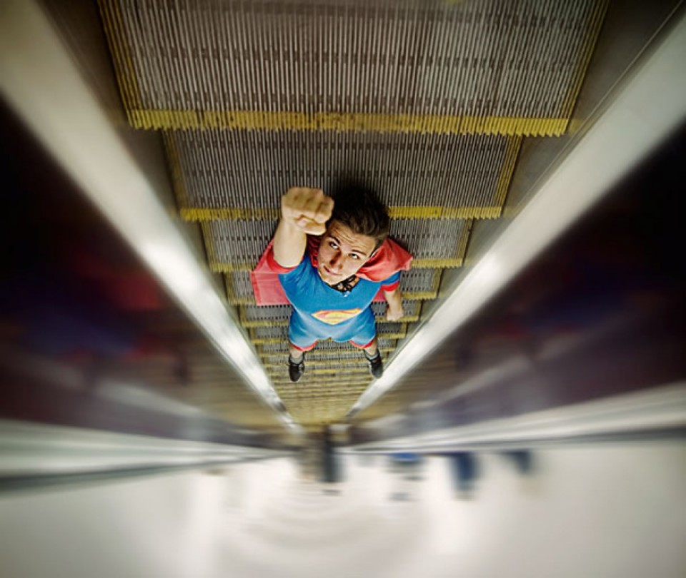 «Супермен». Фотограф Дмитрий Богачук