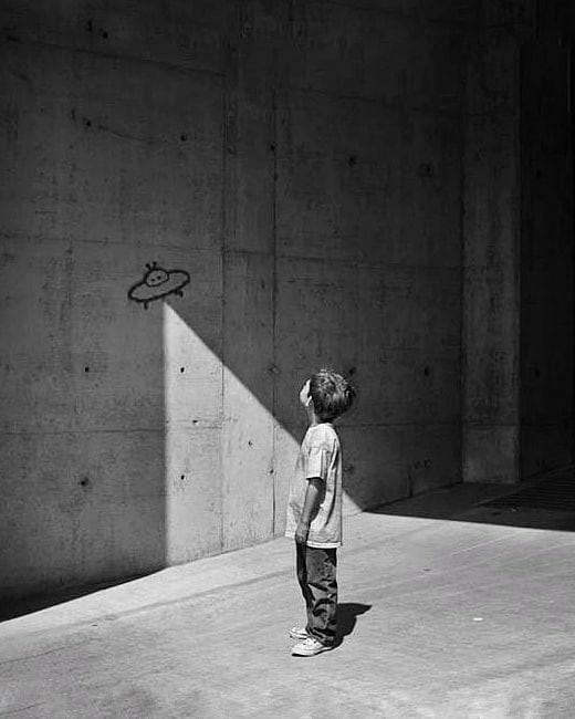 НЛО. Фотограф Джо Баран