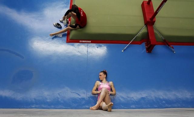 Гимнастика. Фотограф Fernando Vergara