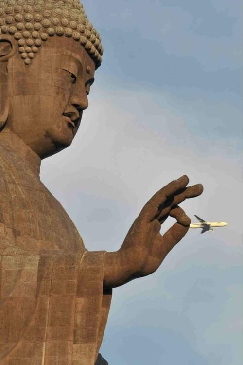 «Будда поймал самолёт»
