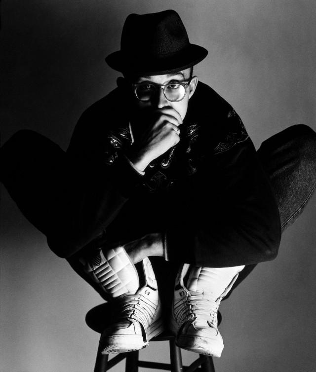 Кит Харинг, Нью-Йорк, 1989. Автор Герб Ритц