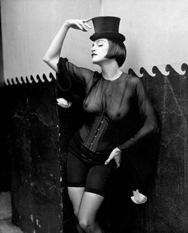 Мадонна, 1990. Автор Герб Ритц