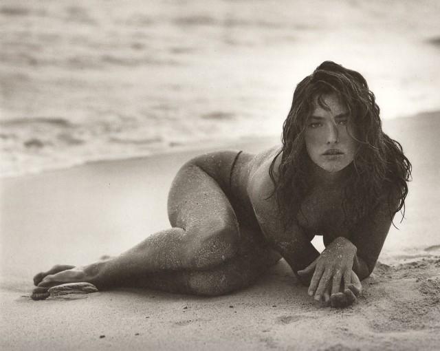 Татьяна Патитц, Сен-Бартелеми, 1987. Автор Герб Ритц