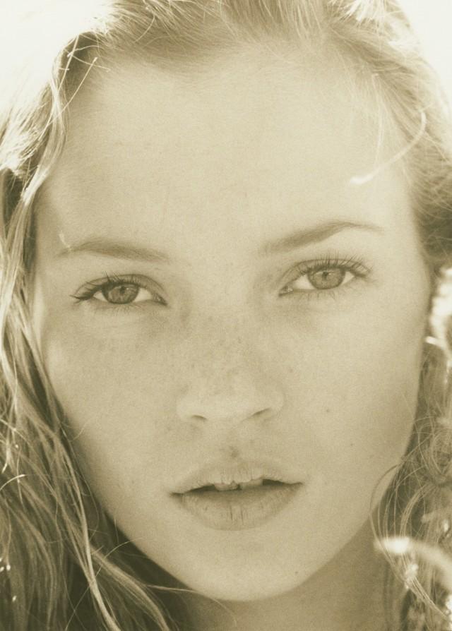 Кейт Мосс, портрет, 1994. Автор Герб Ритц