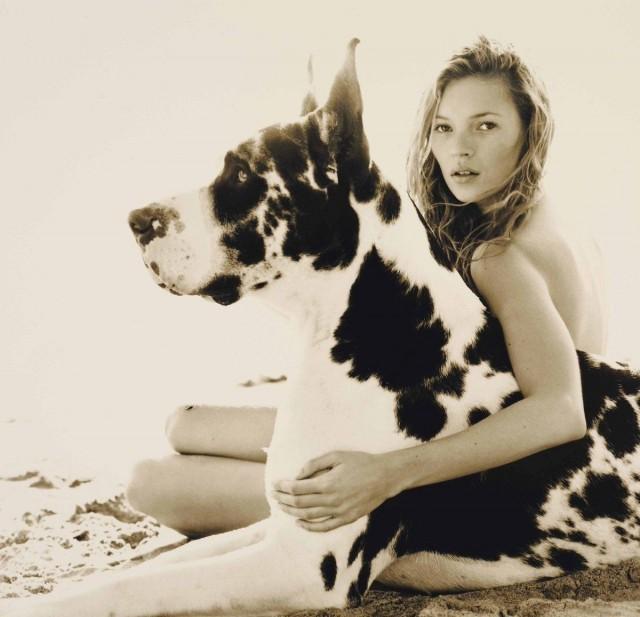 Кейт Мосс, 1997. Фотограф Герб Ритц