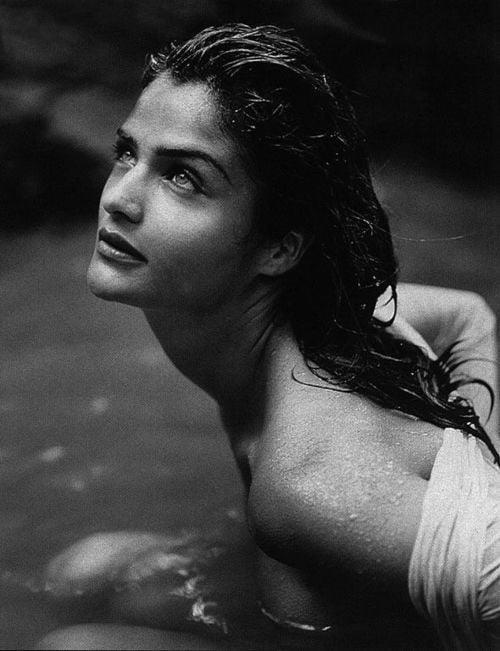 Хелена Кристенсен, 1991. Фотограф Герб Ритц