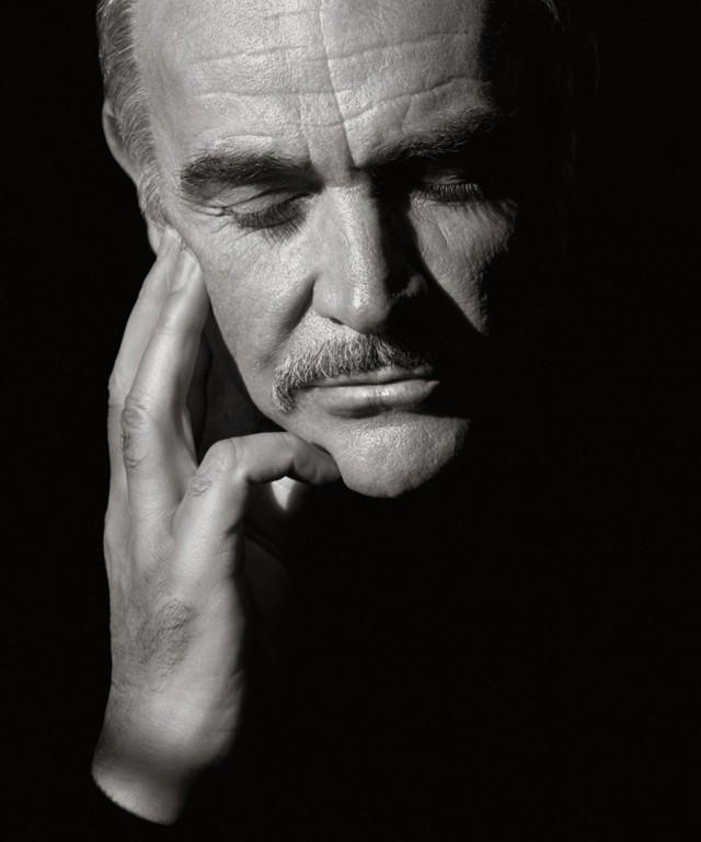 Шон Коннери, Голливуд, 1989. Фотограф Герб Ритц