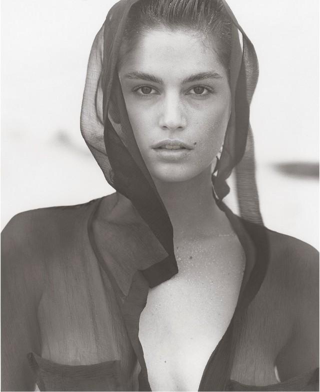 Синди Кроуфорд, Гавайи, 1988. Фотограф Герб Ритц