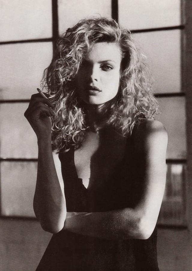 Мишель Пфайффер, 1980-е. Фотограф Герб Ритц