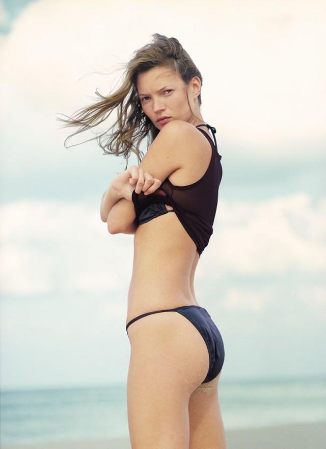 Кейт Мосс, Куба, Harpers Bazaar, 1998. Автор Патрик Демаршелье