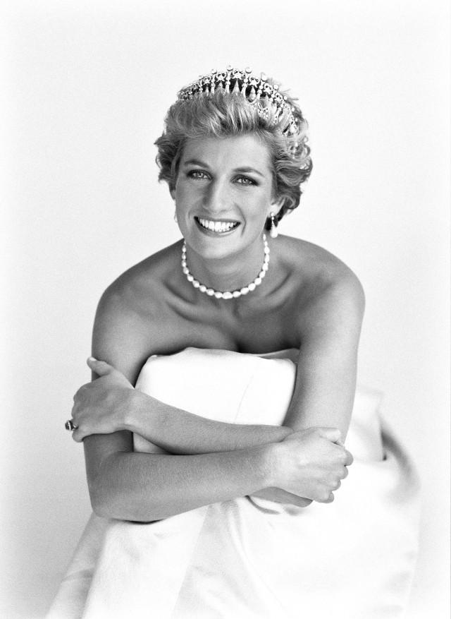 Принцесса Диана, 1990. Автор Патрик Демаршелье