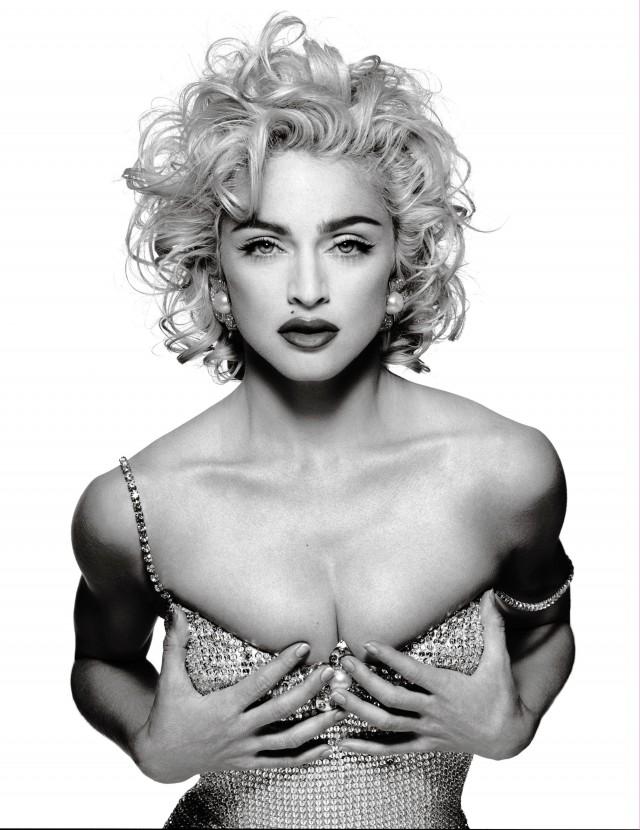 Мадонна, 1990. Автор Патрик Демаршелье