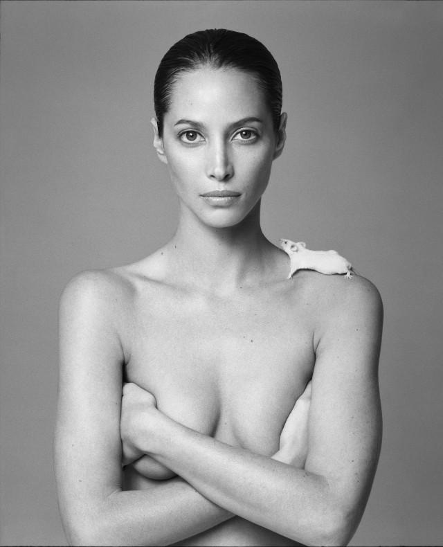 Кристи Тарлингтон, 1999. Автор Патрик Демаршелье