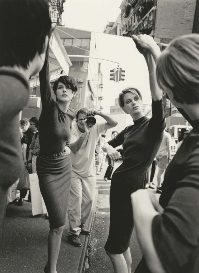 Стелла и Кристен, Нью-Йорк, 1995. Автор Патрик Демаршелье