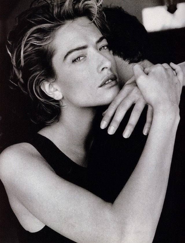 Татьяна Патитц для Vogue, 1990. Автор Патрик Демаршелье