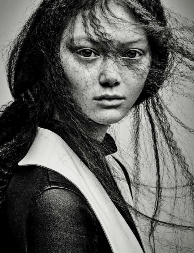 Сара Грейс для Vogue, 2017. Автор Патрик Демаршелье