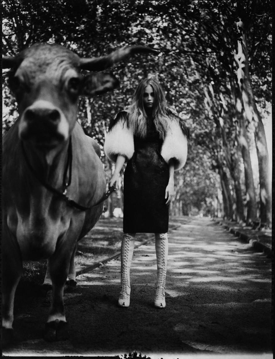 Наташа Поли для Vogue, 2007. Автор Патрик Демаршелье