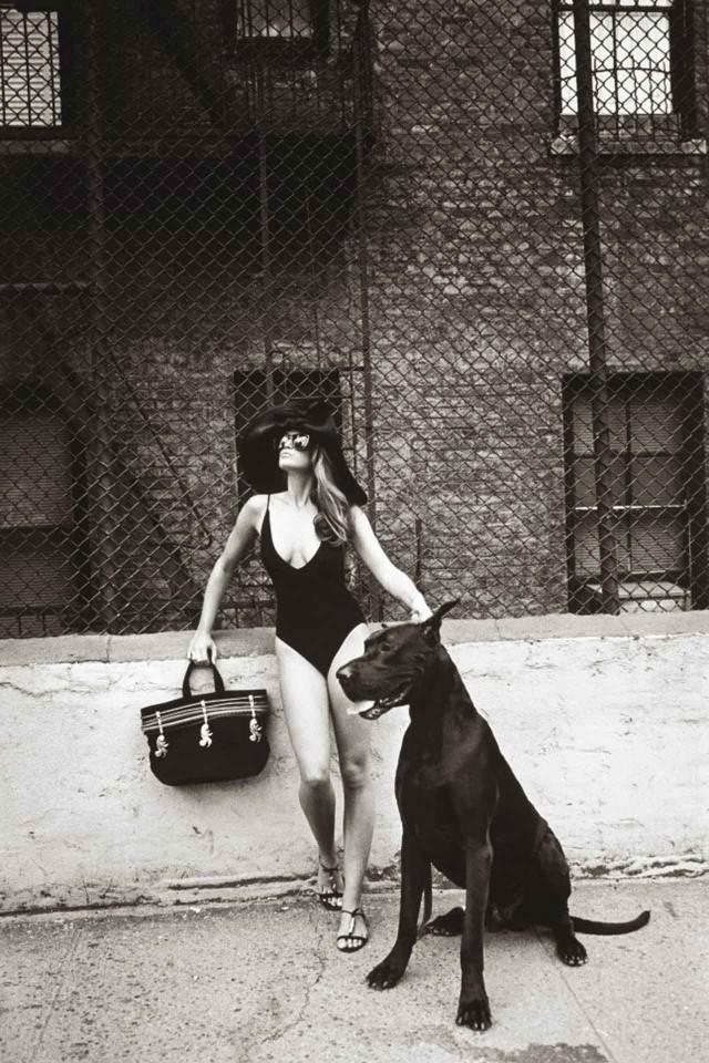 Синди Кроуфорд для Vogue, 1990. Автор Патрик Демаршелье